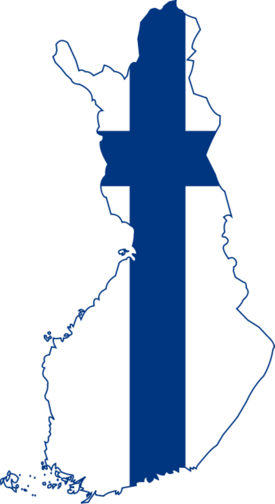 finland Finland Flag Map