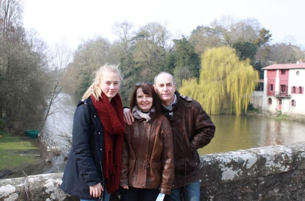 france FRA Ebba Holmström host family