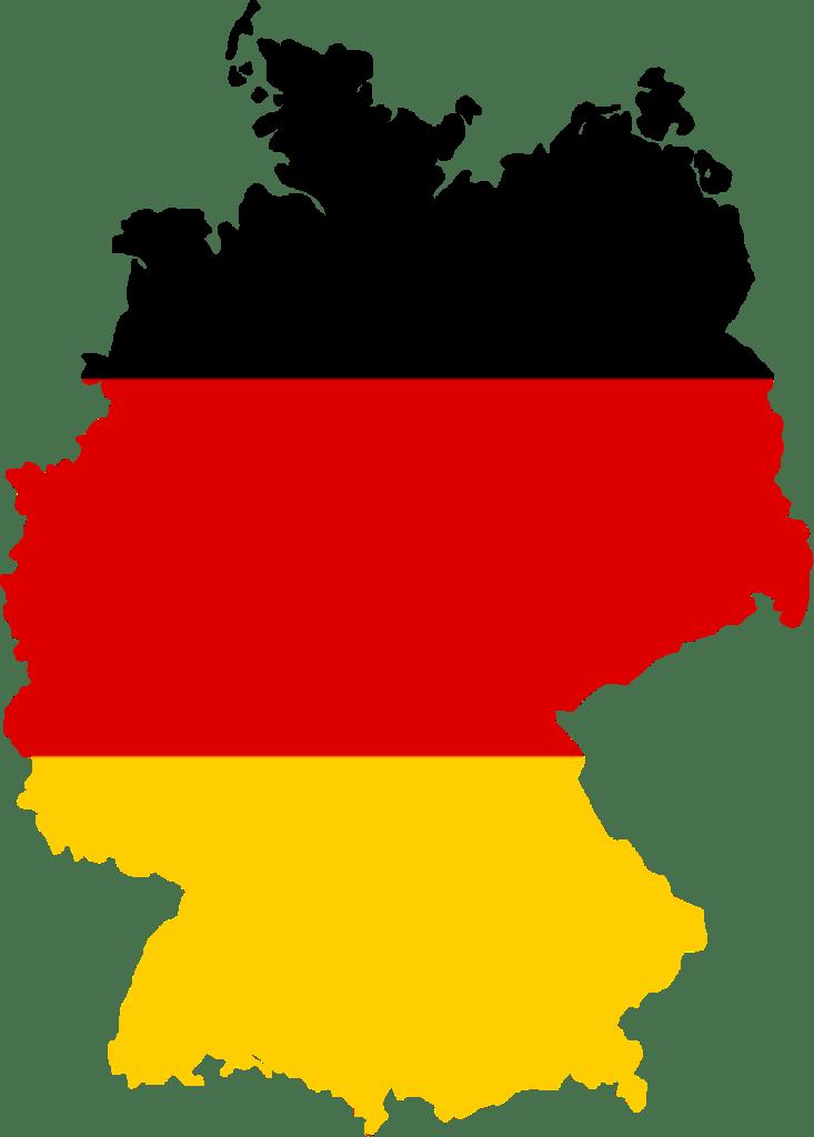 germany Germany Flag Map