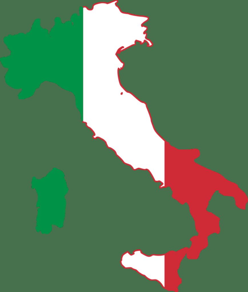 italy Italy Flag Map