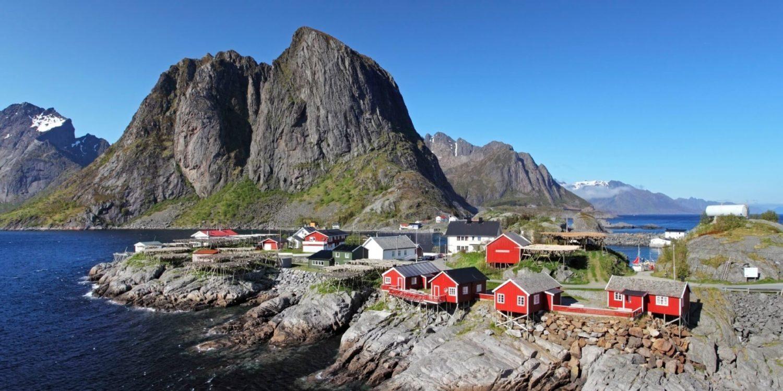 norway Norway village Reine slider