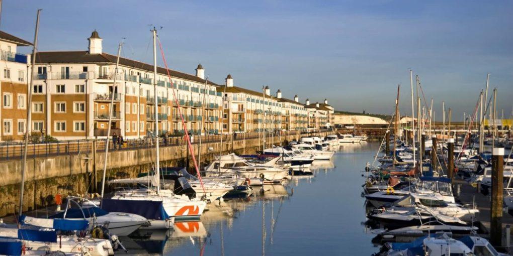 uk Brighton Marina slider