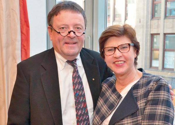 Dr. Ekkehard Nümann und Prof. Uphaus-Wehmeier