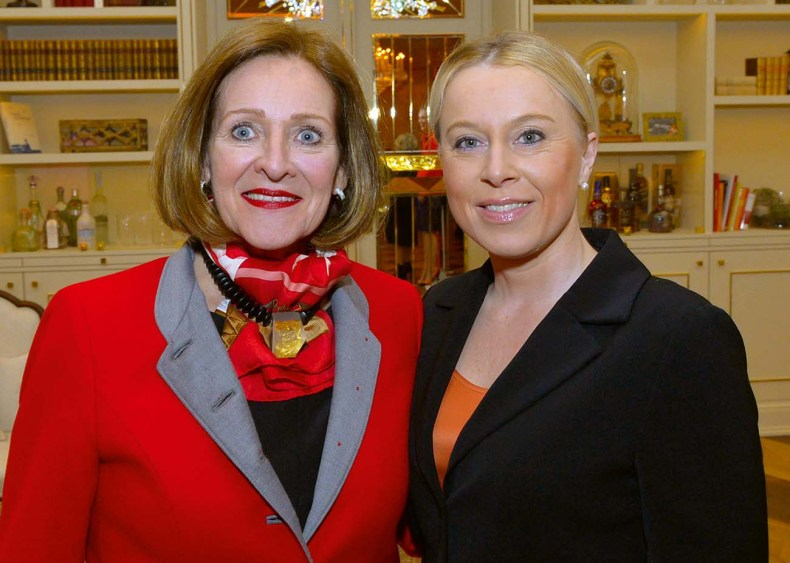 Birgit Saatrübe-Möllers und Kristin Polzin