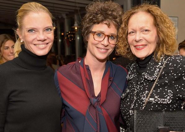 Katharina Wittenberg, Ina Krug und Marietta Andreae