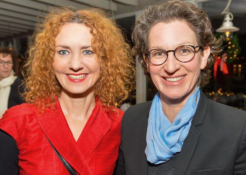 Steffi Oesterwind und Kathleen Nufer