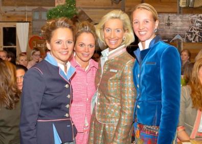 Claudia Zeuzem Christina Helms Kristina Tröger Caroline Freisfeld