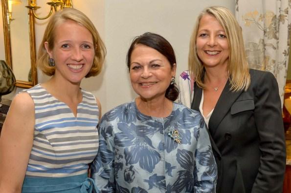 Caroline Freisfeld Bramfeld & Gutruf, Dr. Sonja Lahnstein-Kandel, Ulrike Stratmann Montblanc