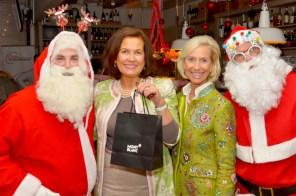 Vera Schley Prof. Schley & Partner Kristina Tröger übergibt Geschenk MONTBLANC