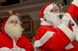 Zwei coole Santas in Action 1