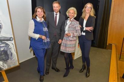 Christiane Götz-Weimer Weimer Media Group, Christian Lindner FDP-Bundesvorsitzender, Kristina Tröger CeU-Präsidentin , Franziska von Lewinski, Vorstand fischerAppelt AG