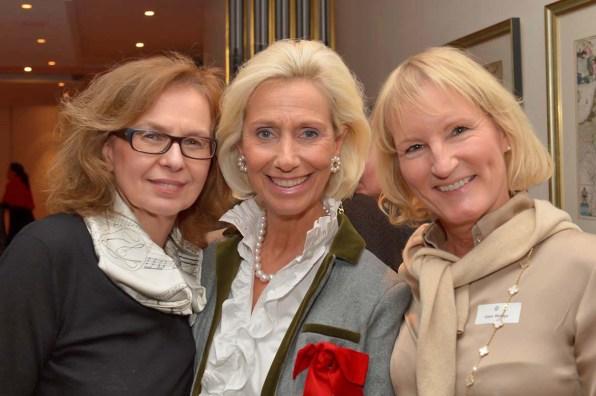 Dr. Dragana Seifert UKE, Kristina Tröger Präsidentin CeU, Gaby Bethge L.A.N.G. GmbH