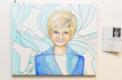 Portrait Christine Stüber-Errath Eiskunstläuferin