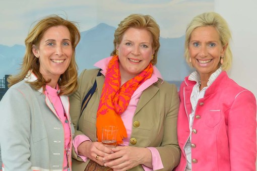 Birgit Frfr. von Lotzbeck-Kesselring Münchener Herrenclub,Brigitte Meier Eduard Meier Schuhhaus, Kristina Tröger CeU-Präsidentin