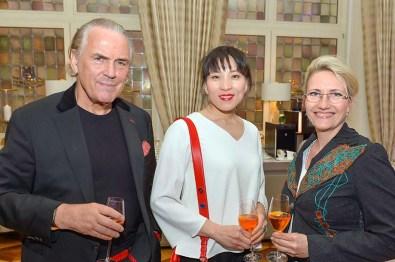 Jürgen Hunke Eigentümer Kammerspiele, Chun Li Hunke, Yvonne Trübger Pianohaus Trübger