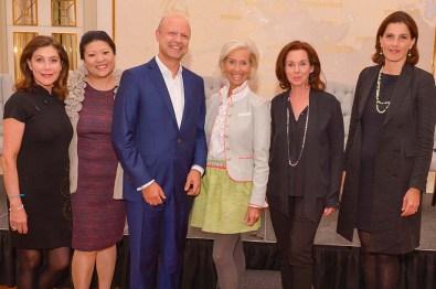 Podiumsteilnehmerinnen- Alexandra v. Rehlingen SVR PR, Prof. Yu Zhang China Communications, Britta Sandberg DER SPIEGEL, Dr. Cinderella von Dungern GIZ