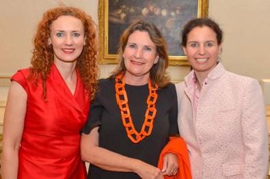 Steffi Oesterwind Sakura Spa, Christiane Goetz-Weimer Weimer Media Group, Marina Tcharnetsky Cebcon Technologies