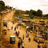Hauptstrasse in Bonga