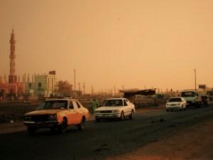Unterwegs in al-Chartum Bahri
