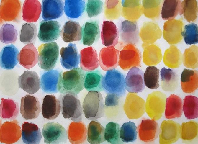 Farbstudien zu RGB: spätsommerlich, warm