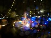 Regentropfen vor der Linse in Utrecht