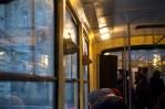 Lemberg - bunte Komposter in der Tram