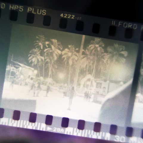 Titelfoto Analog Indien Caffenol Palolem Beach