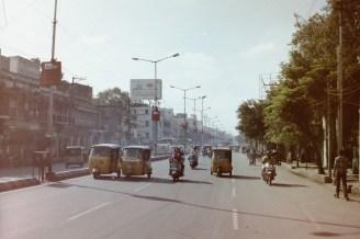 Hyderabad - Unterwegs mit der Autorikscha (Tuk Tuk) in Indien. In Hyderabad sind die Fahrer sehr korrekt und alle Rikschas, die ich genutzt hatte, waren mit einen funktionierenden Taxameter ausgerüstet