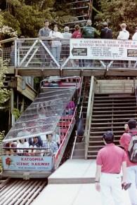 Katoomba - Die Scenic Railway ist die steilste Standseilbahn der Welt
