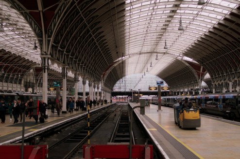 London Bahnhof Paddington