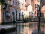 Fahrt mit dem Wassertaxi durch Venedig