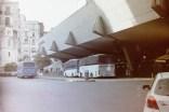 Neapel - Busse und Taxis an der Stazione Napoli Porta Nolana mit der Zorki4K auf einem selbstentwickelten Fuji Pro 400H Film
