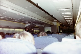 QF 005 - über 22 Stunden dauerte der Flug im Jumbo von Sydney nach Frankfurt