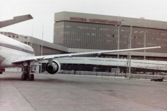 SVO – Gerade gelandet auf dem Flughafen Moskau-Scheremetjewo