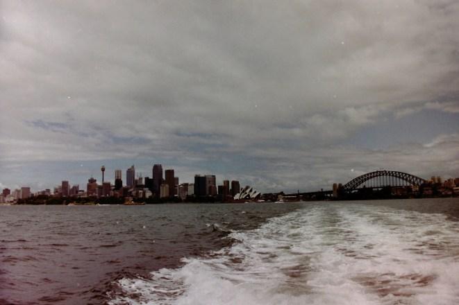 Sydney - Auf der Fähre von Circular Quay nach Bondi Beach