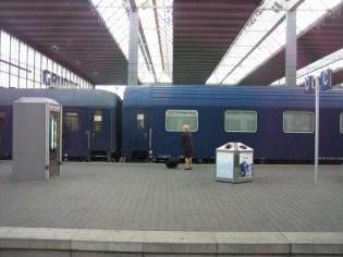 München - Nachtzug am Nachmittag