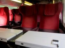 Im Thalys nach Paris war kein Mensch
