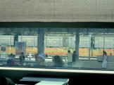Venezia-Mestre, Italien - aus dem Zugfenster fotografiert