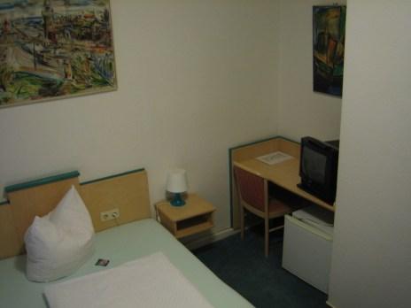 Hotelzimmer in Berlin