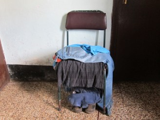 Im Hotel in Harar, Äthiopien