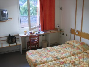 Dudelange, Luxemburg - mein zweites Zimmer