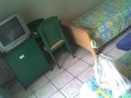 Trier, ein sehr einfaches Hotelzimmer