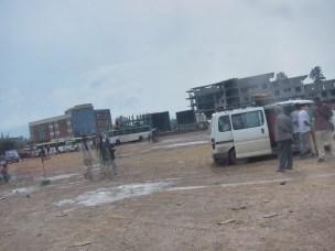 Jimma, Äthiopien - am Busbahnhof
