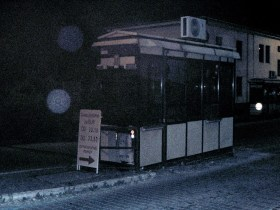 Slowakei - ein altes Zollhäusschen an der Grenze