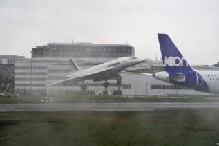 CDG - Heritage Concorde am Flughafen Paris Charles de Gaulle