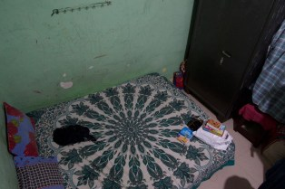 Hampi - Mein erstes Gästezimmer bei einer sehr lieben Familie