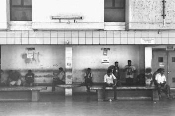 Canacona Bus Station. Goa, Indien