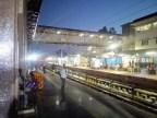 KSR Bangalore City Railway Station - Morgens um sechs Uhr, gerade angekommen.