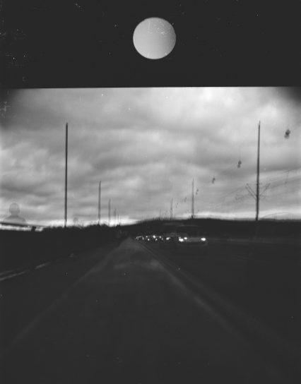 Südbrücke mit Doppelbelichtung