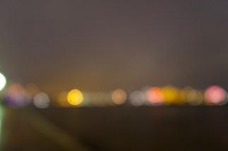 Abendlichter am Hamburger Hafen